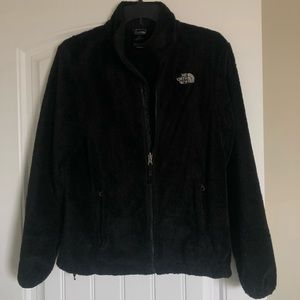 Black Cozy The North Face Coat